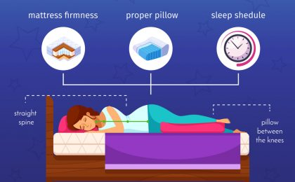 Sleep Better Infographic
