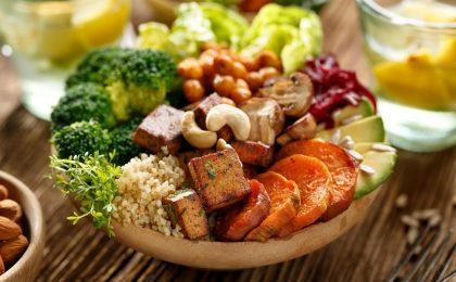 Plant-based salad